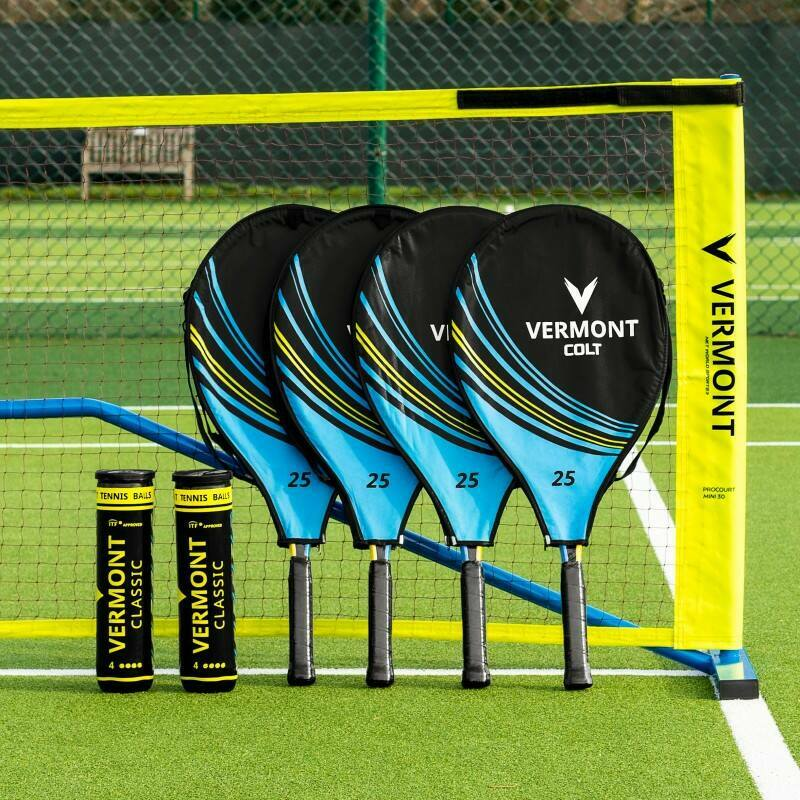 Vermont ProCourt Mini Tennis Net & Racket Set | Net World Sports