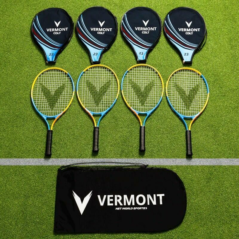 Vermont Mini Orange Tennis Racket & Bag Set | Net World Sports
