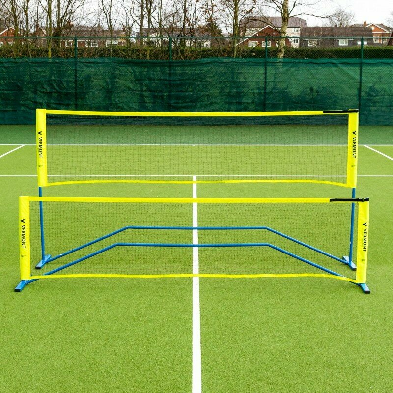 Vermont ProCourt Mini Tennis & Badminton Net 10FT   Net World Sports