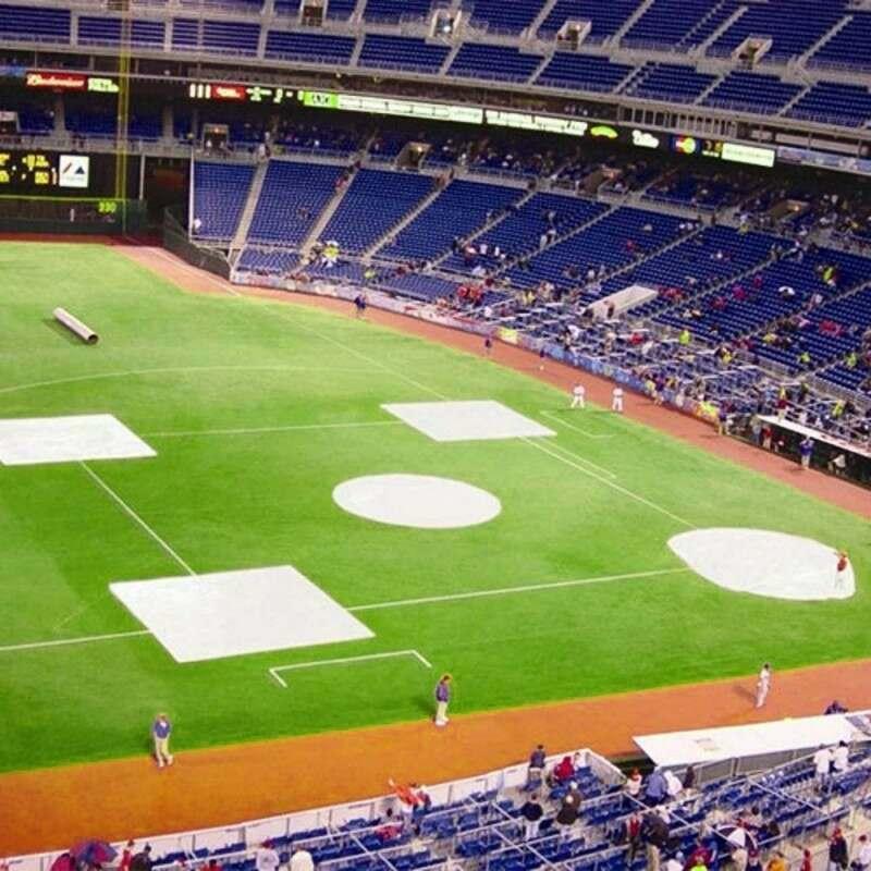 Little League Baseball Mound Tarps