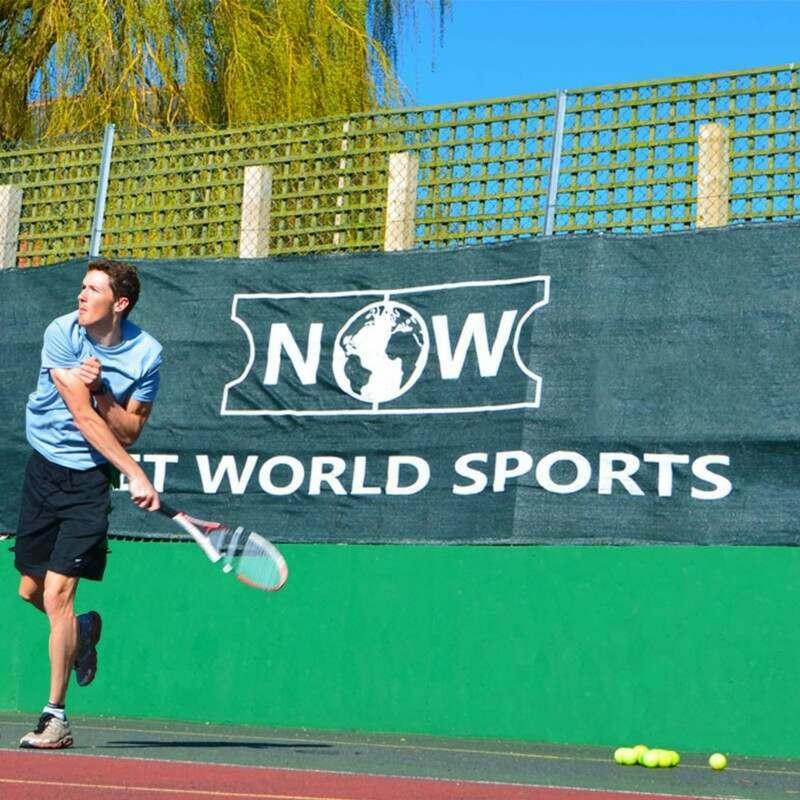 Custom Windbreaks For Tennis