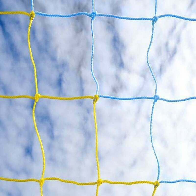 Yellow & Blue Soccer Nets