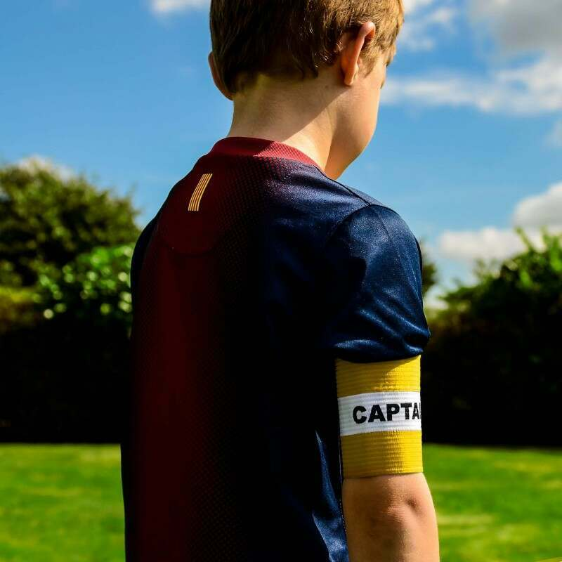 Yellow Captains Armband for Kids
