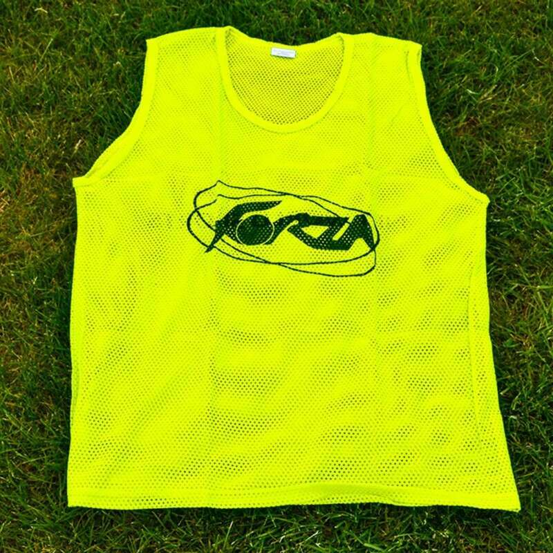 Florescent Yellow Bibs For Soccer Training Drills