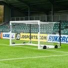 Video for 3.7m x 1.8m FORZA Alu110 Freestanding Stadium Box Football Goal