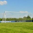 Video for 7.3m x 2.4m FORZA Alu60 Football Goal
