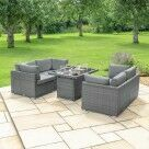 Video for Harrier Rattan Sofa Set (4 Seats + Fire Pit)