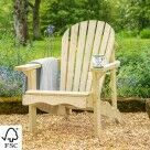 Video for Harrier Wooden Adirondack Chair [Single/Double]