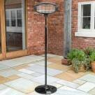 Video for Harrier Rounded Standing Patio Heater [9kg]