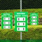 Video for Fence Mounted Tennis Scoreboard [3 Sizes]