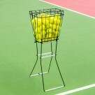 Video for Tennis Ball Basket & Hopper [72 Ball Capacity]