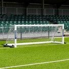 Video for 12 x 4 FORZA Alu110 Freestanding Football Goal