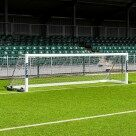 Video for 4.9m x 1.2m FORZA Alu110 Freestanding Football Goal