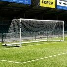 Video for 7.3m x 2.4m FORZA Alu110 Freestanding Football Goal