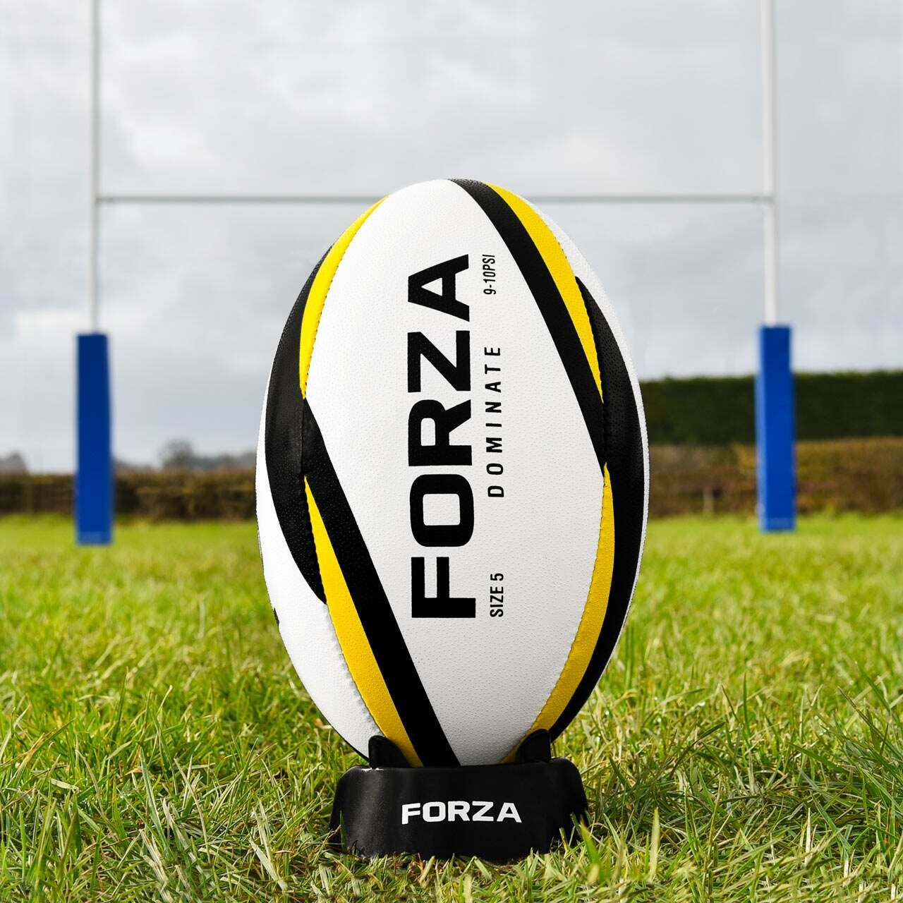 FORZA Dominate Match Rugby Ball [Size 4] [Pack Of 1]