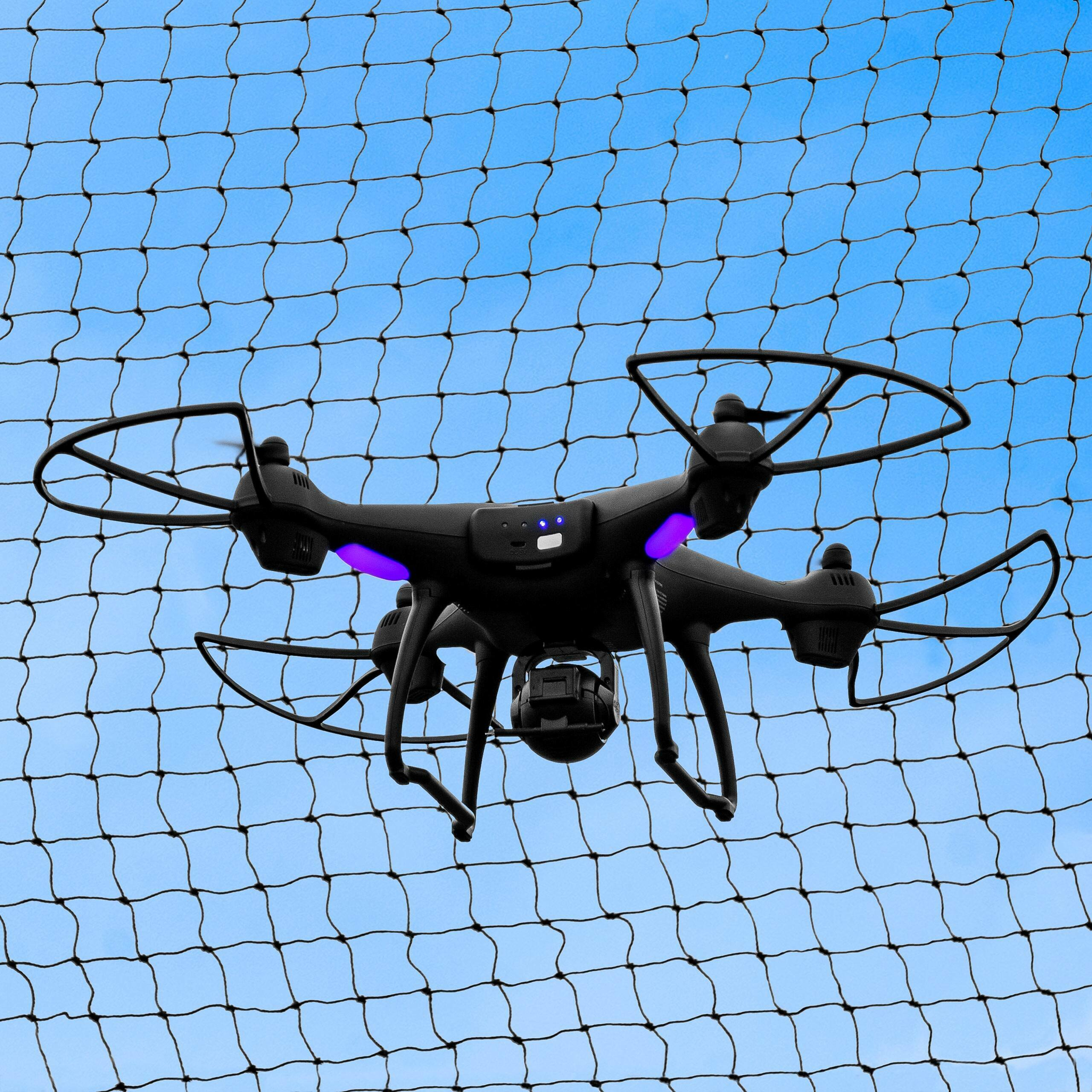 Drone Containment Netting [20ft] - 2mm