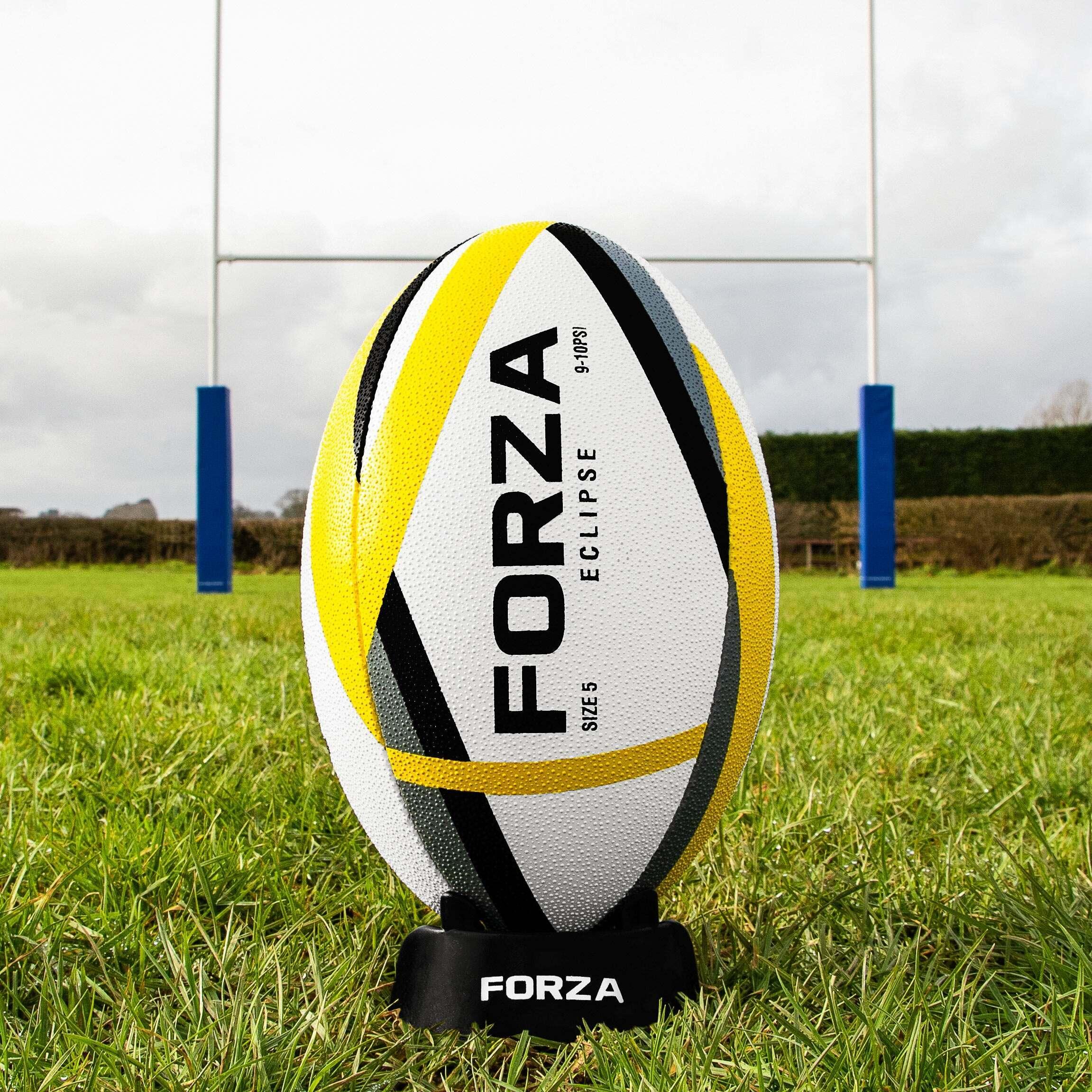 Balón de rugby de FORZA Eclipse para entrenamientos [3 Tamaños]