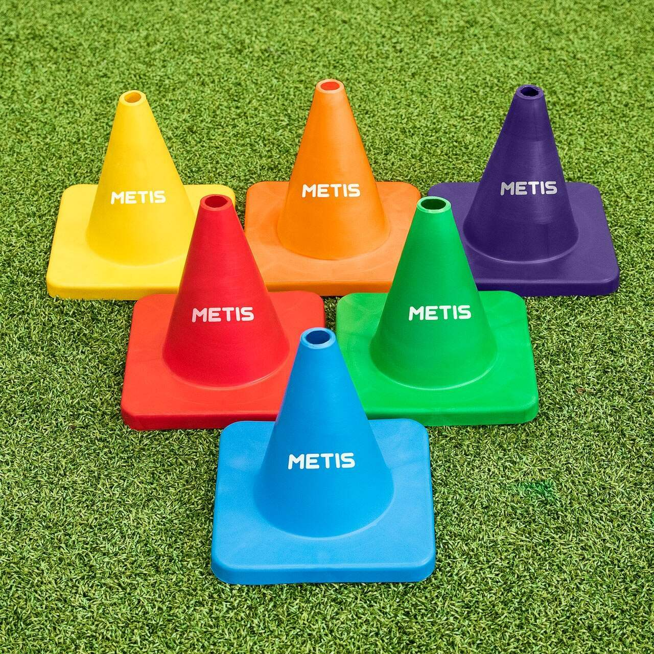 Flexible Training Cones [6 Pack]