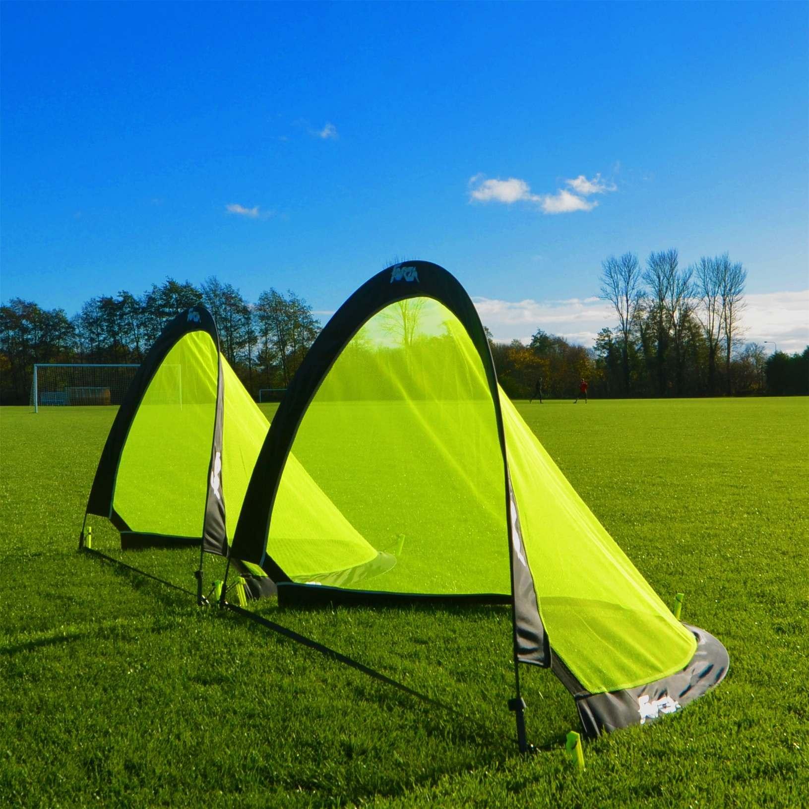 2.5ft FORZA FLASH Pop-Up Football Goals [Pair]