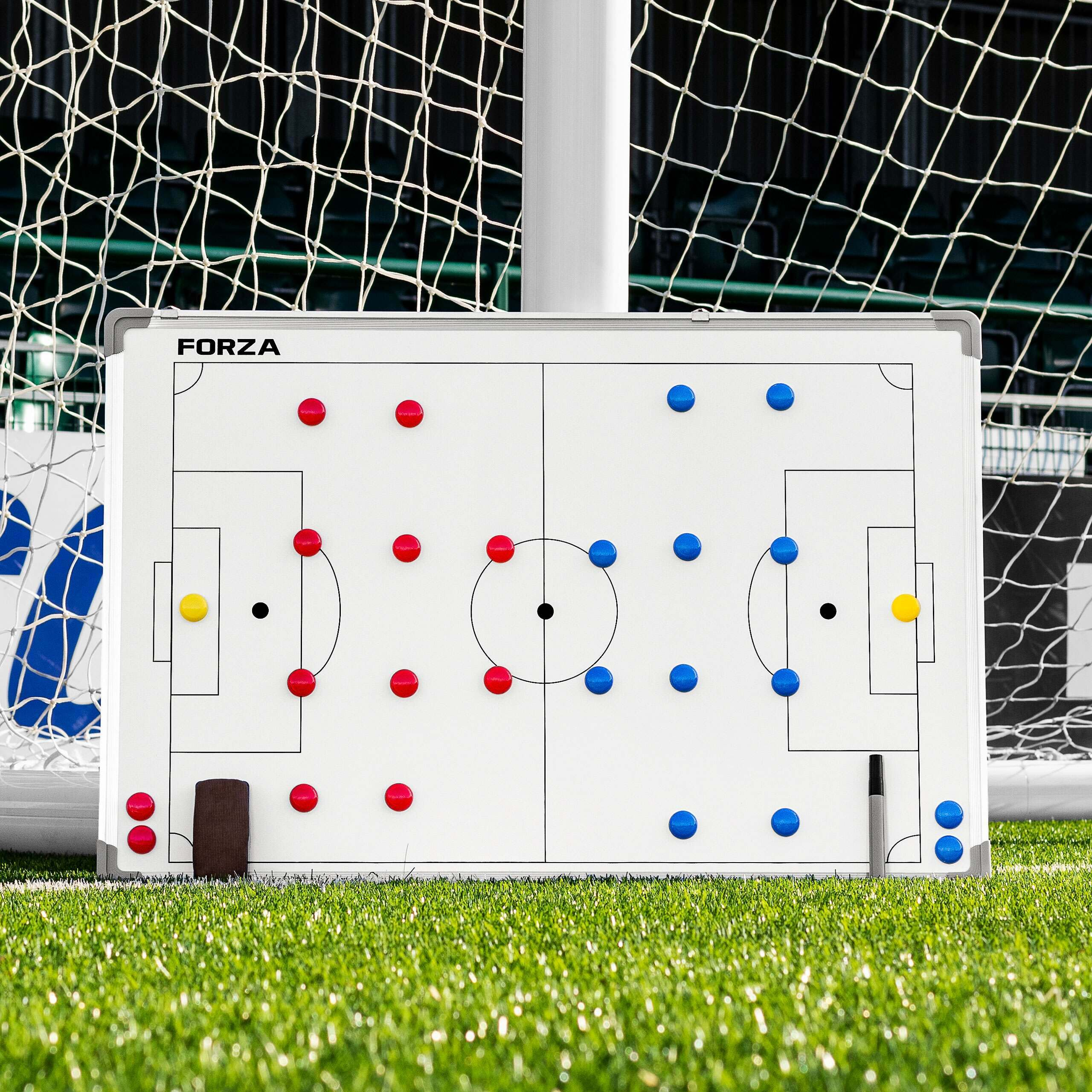 Coaches' & Referees' Gear Precision Pro Soccer Sports Magnetic Futsal Tactic Training Coaching Board & Bag