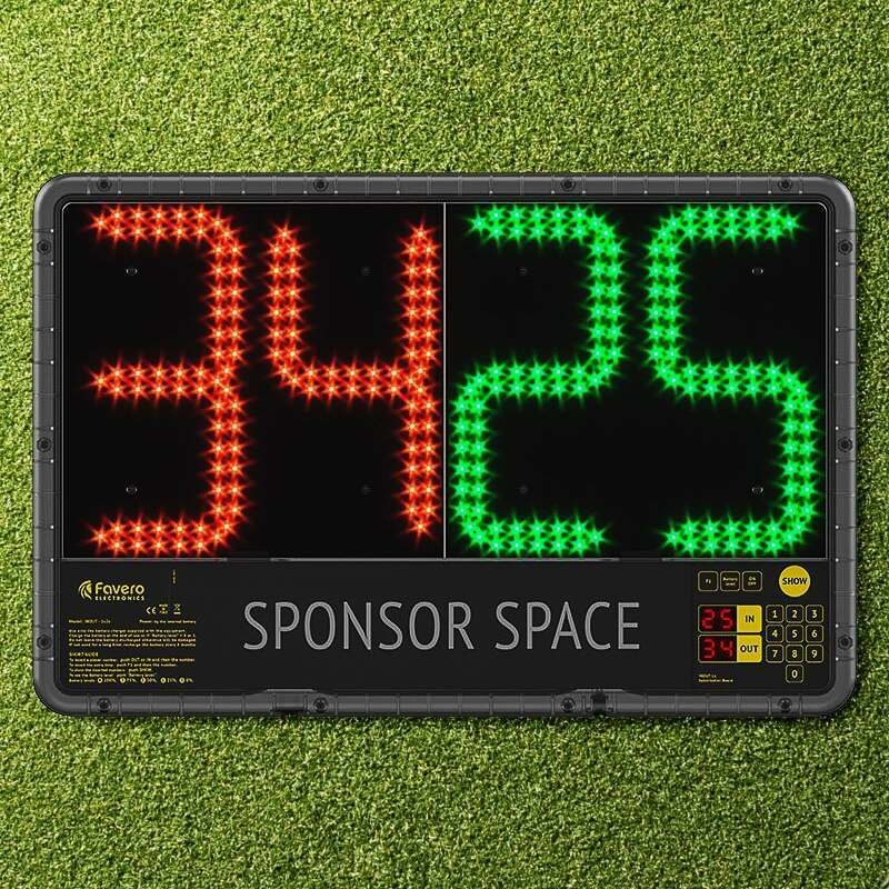 Electronic Football Substitutions Board (Premier League Spec)