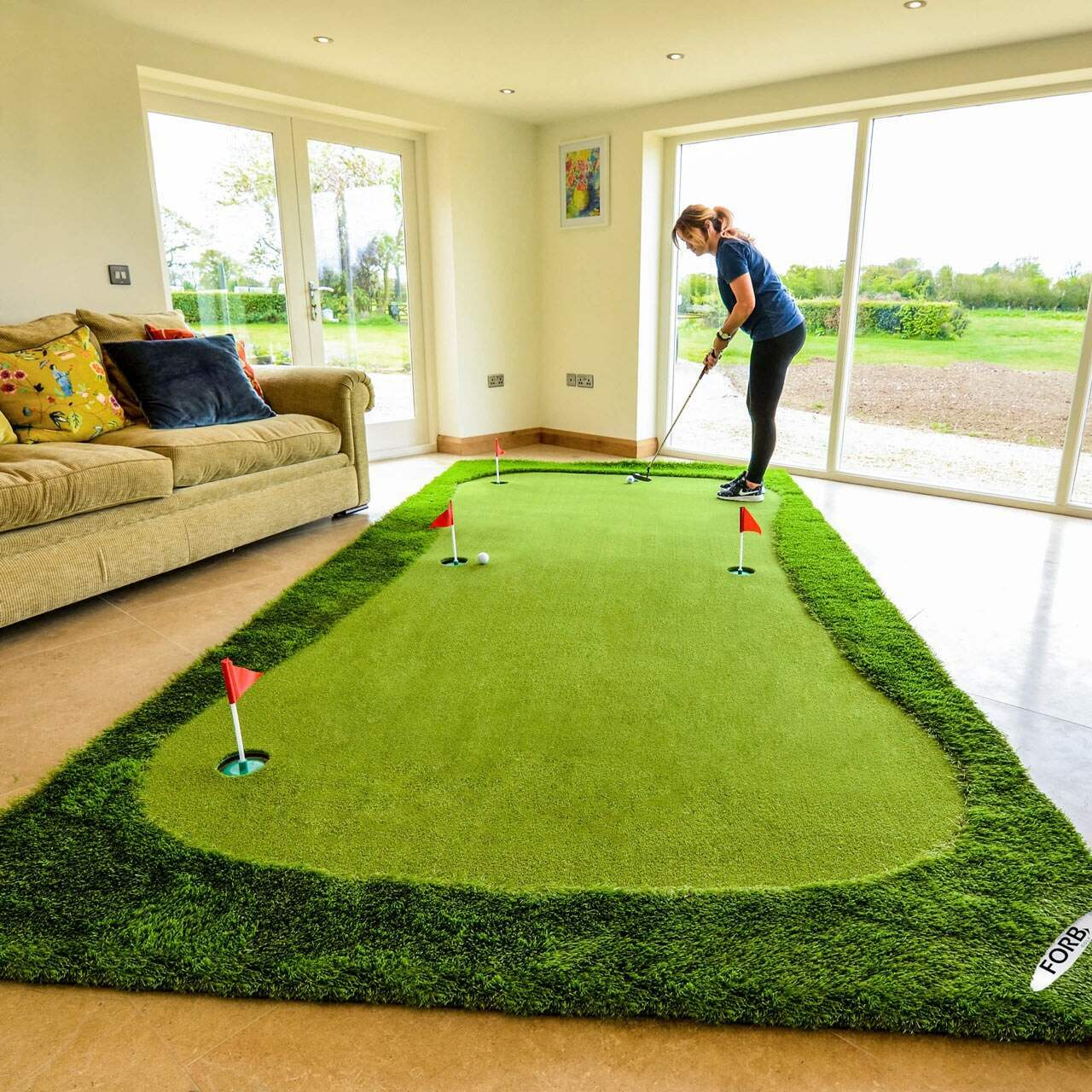 Forb Professionele Golf Putting Mat Xl Net World Sports