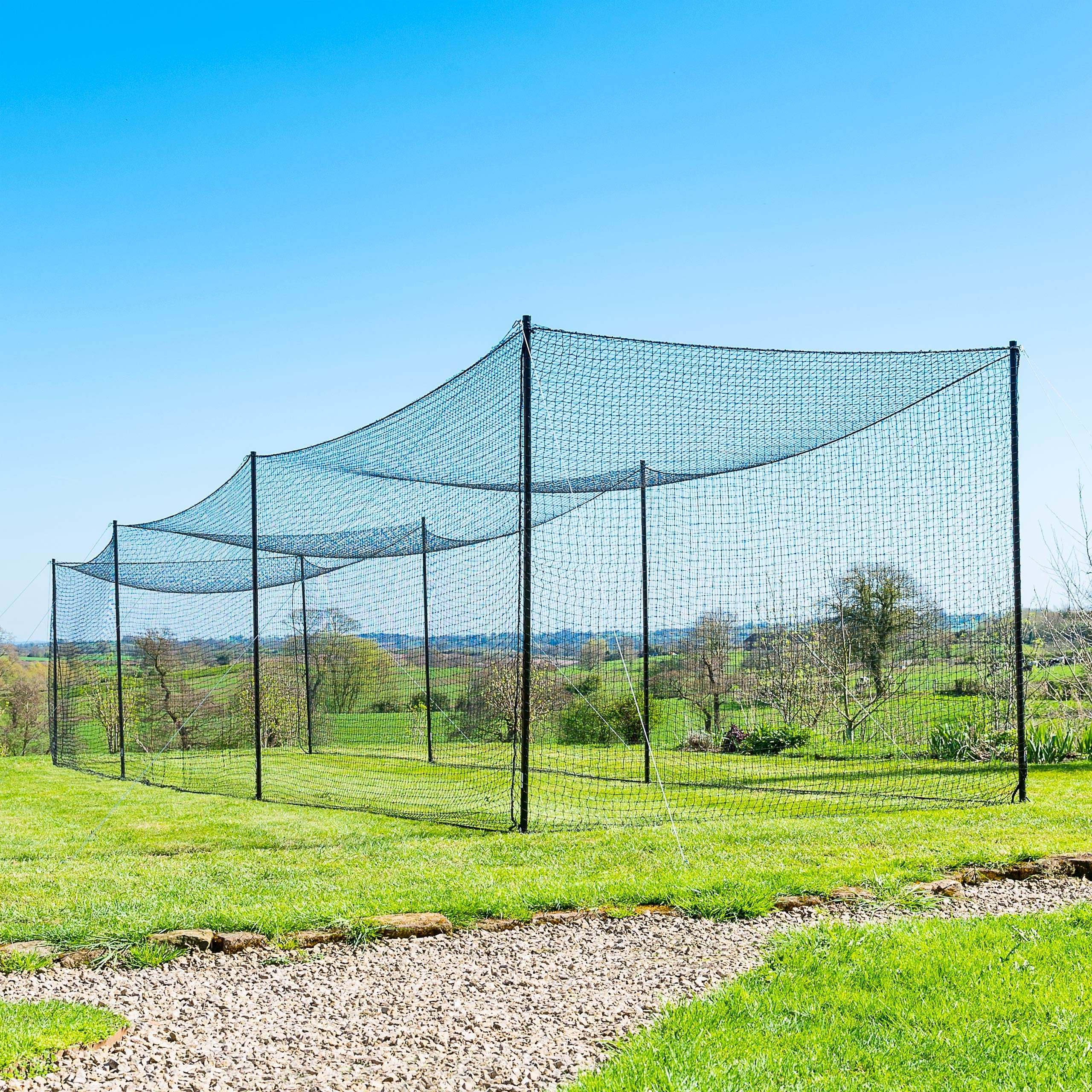 FORTRESS Ultimate Baseball Batting Cage & Poles