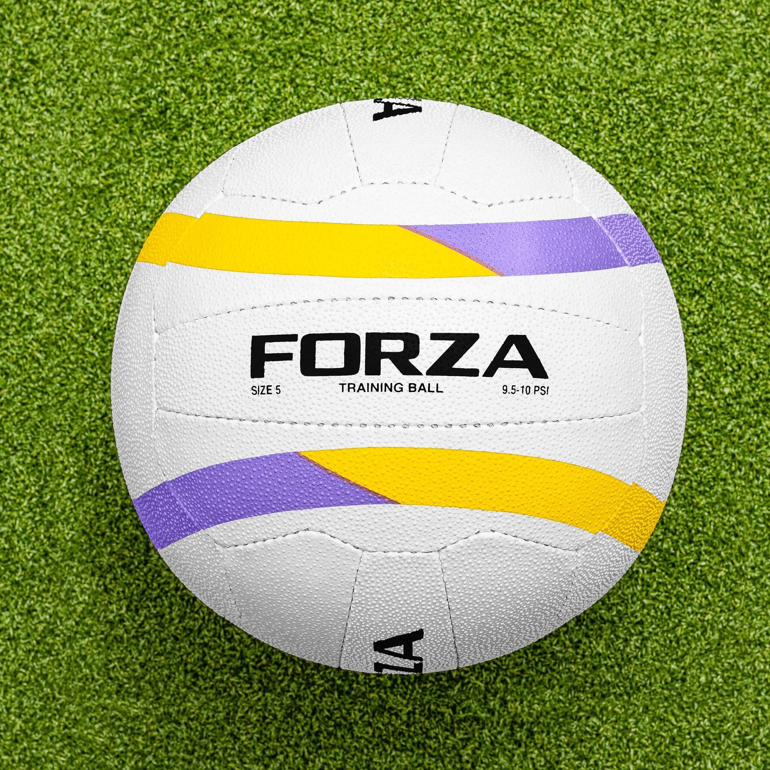 FORZA Balón de Netball Impermeable para Entrenamiento