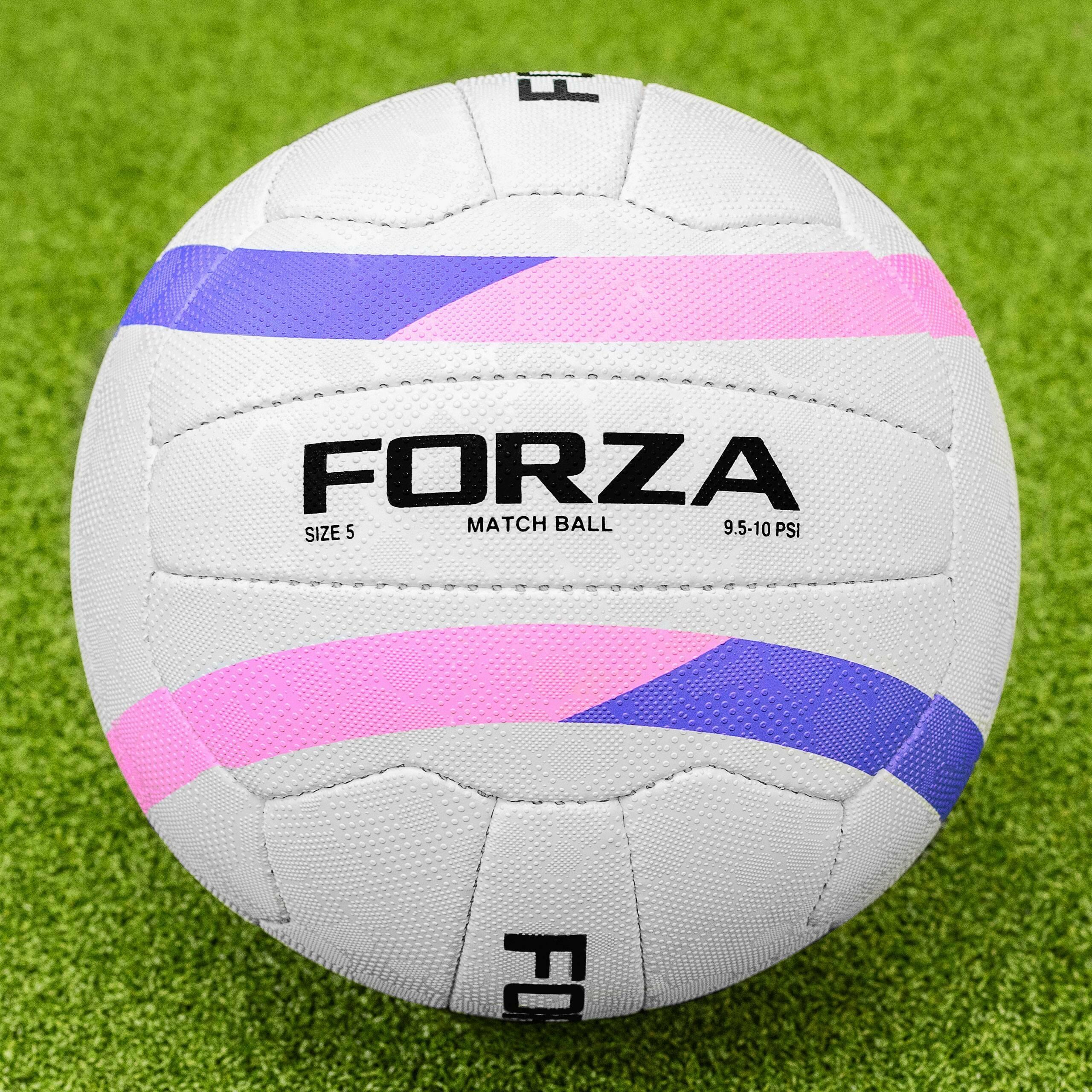 FORZA Balón de Netball para Partidos Internacionales