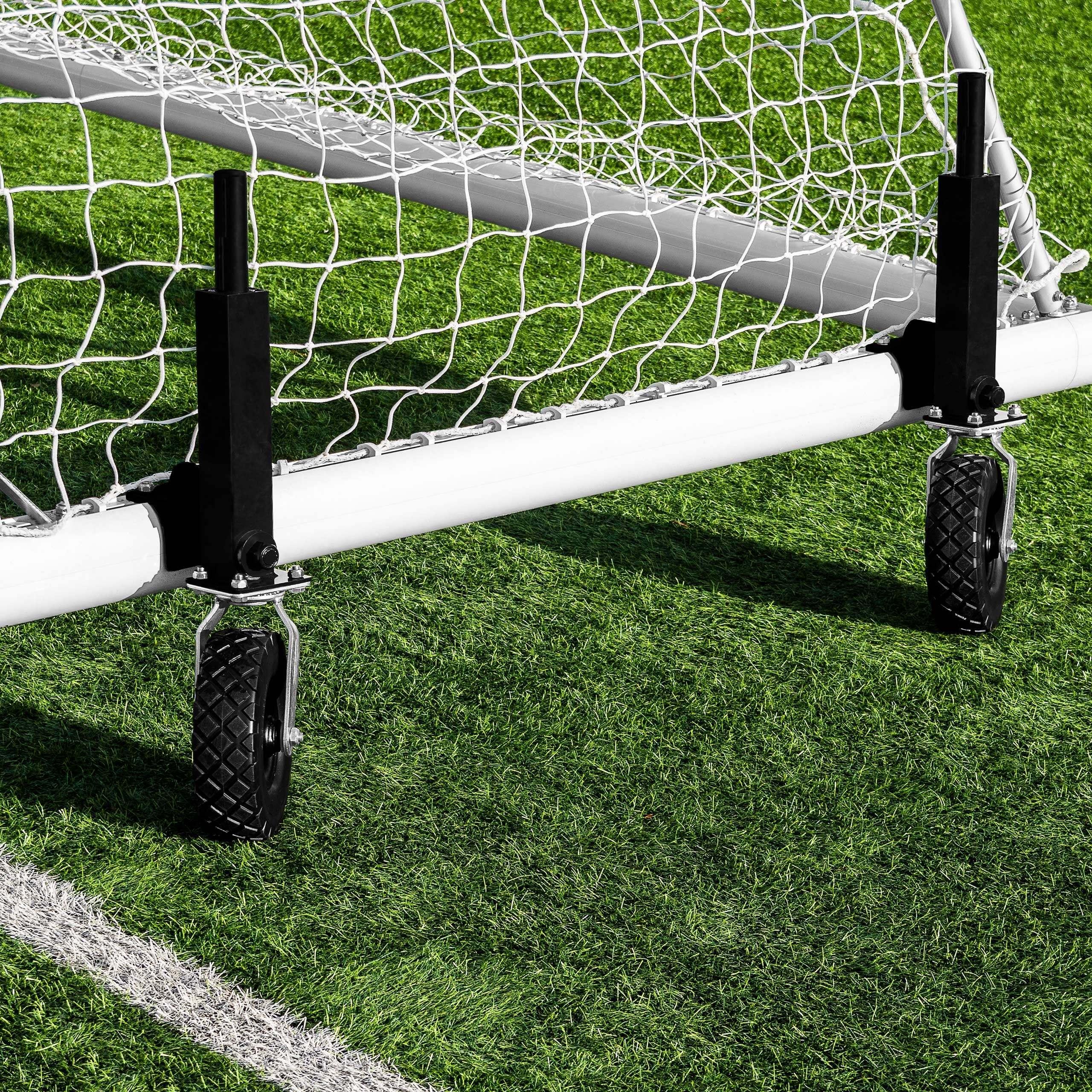 FORZA Alu110 Football Goal Wheels (Lever And 360° Wheels) - Set Of 8 360° Wheels