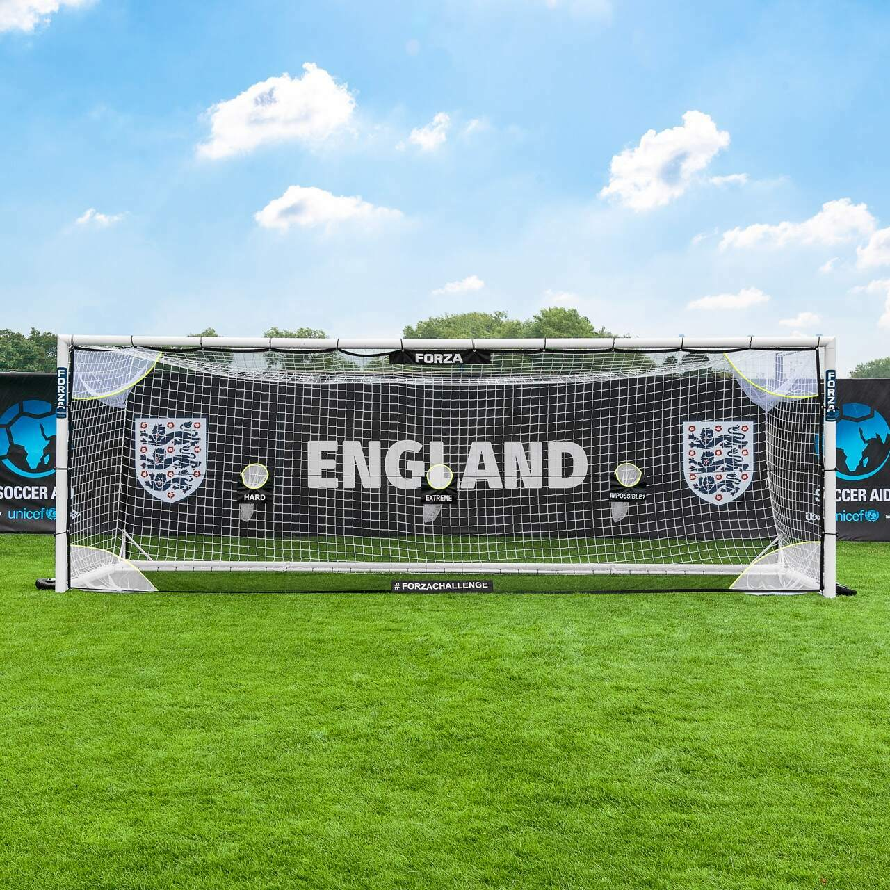 FORZA Challenge Football Goal Target Sheets [24 x 8]