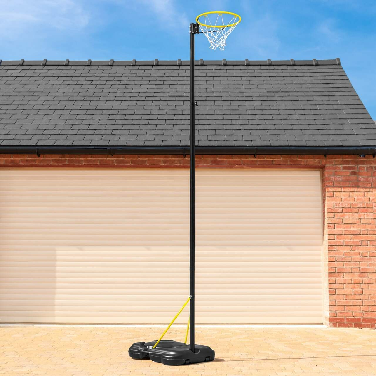 FORZA Adjustable Netball Posts [Freestanding]
