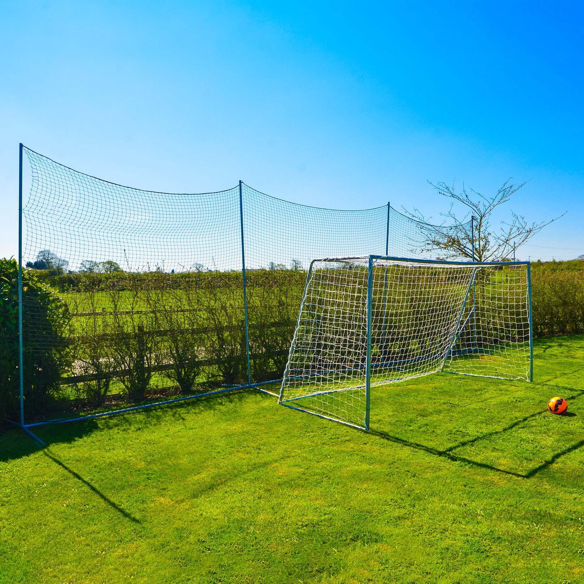 Stop That Ball™ 10FT - Ball Stop Net & Post