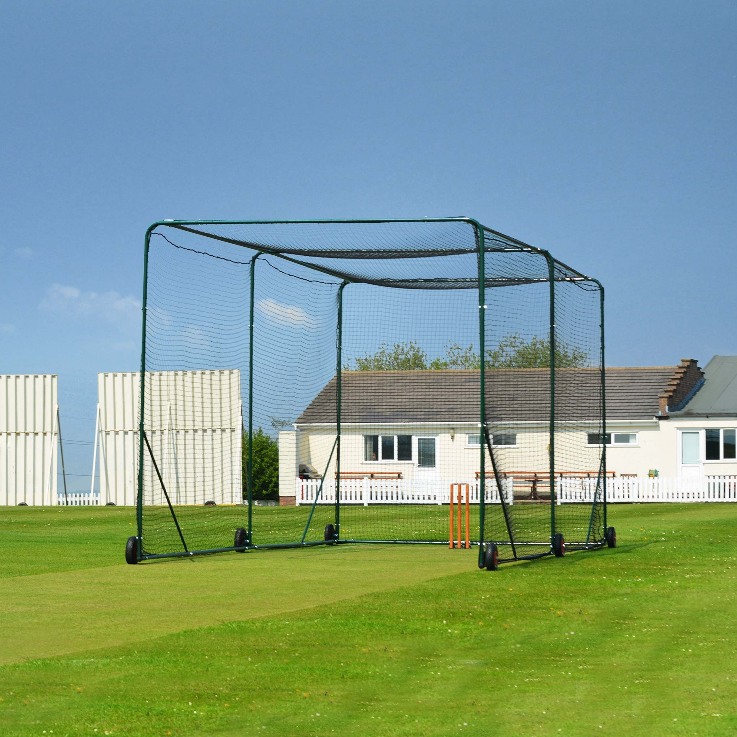 FORTRESS Mobile Cricket Net Cage