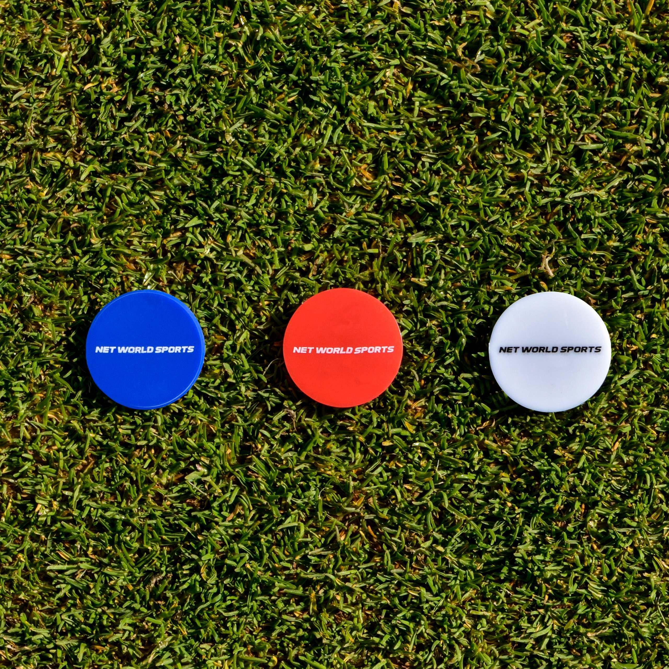 Golf Ball Markers 25pk Net World Sports