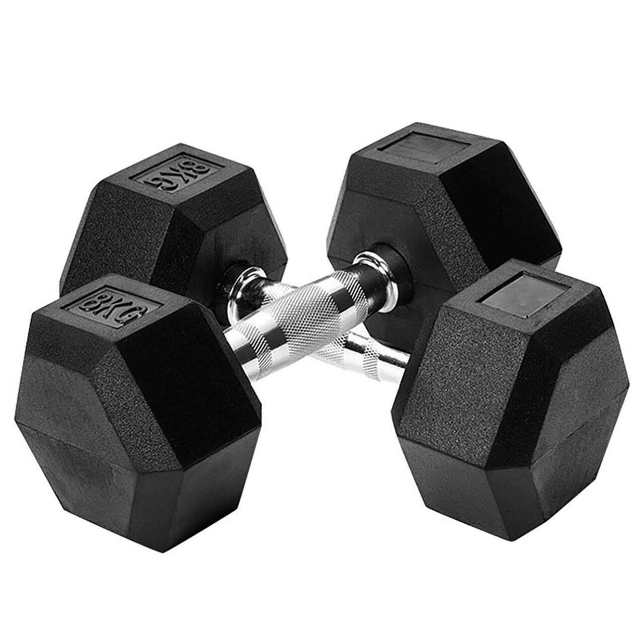 Metis Hex Dumbbells [2.5kg-30kg] - Pair