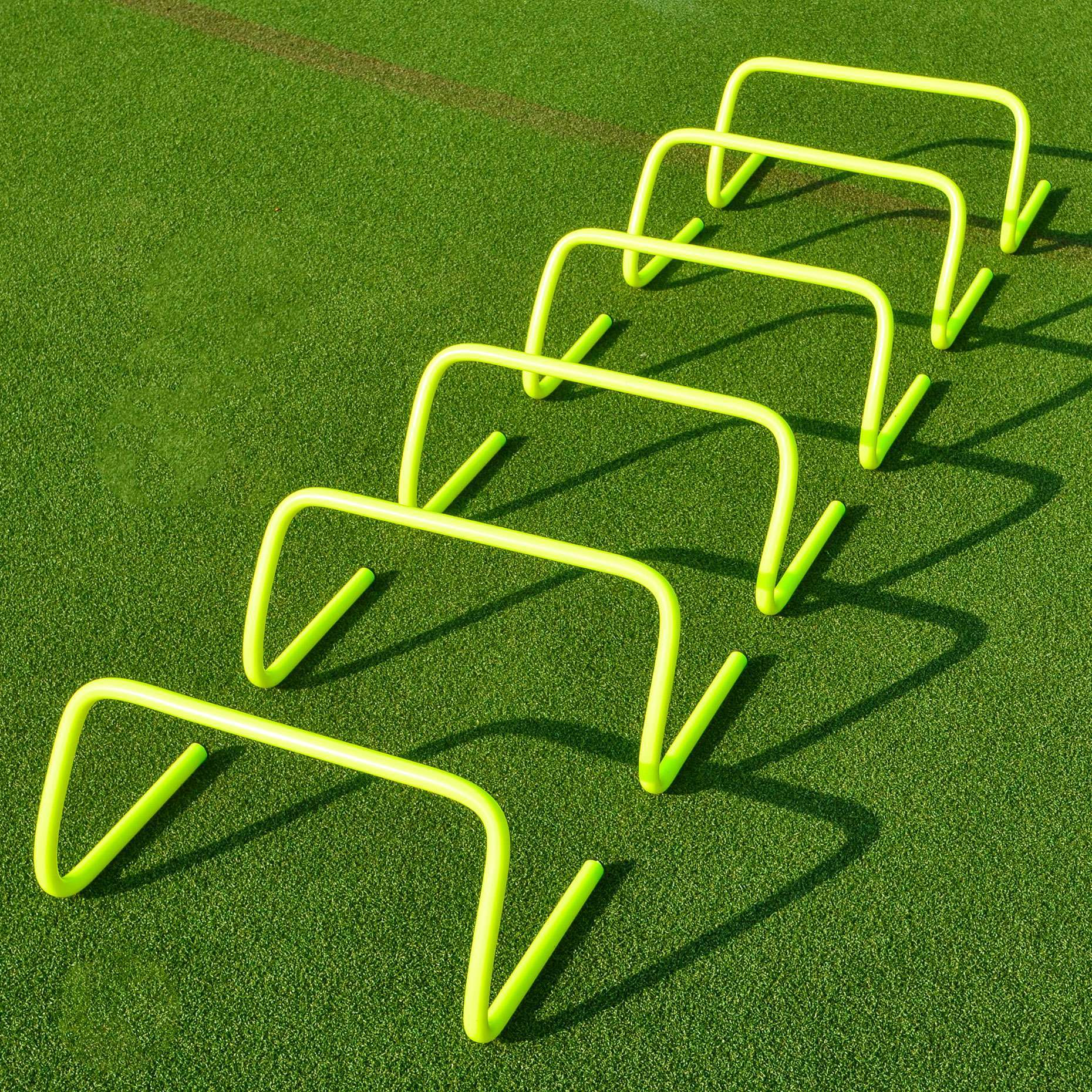 9 Inch FORZA Speed Training Hurdles [6 Pack]