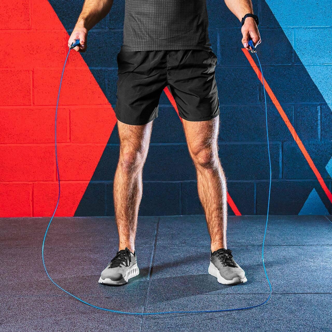 Cuerda de saltar ajustable