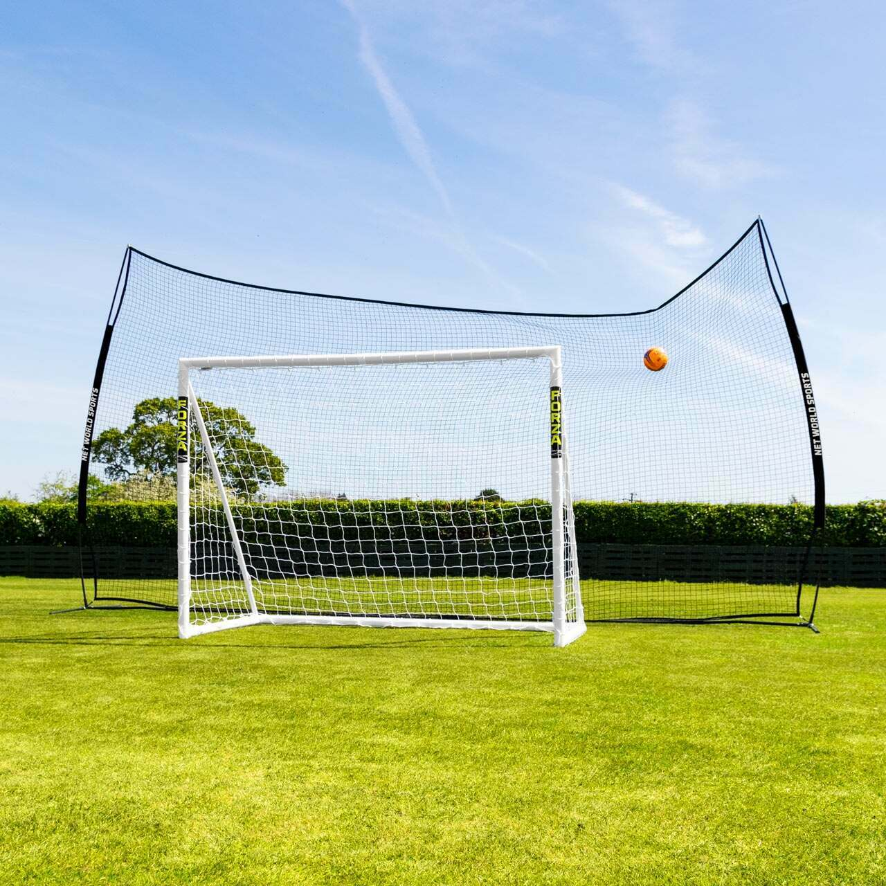 Pop-Up Stop That Ball™ - 6m Ball Stop & Post System
