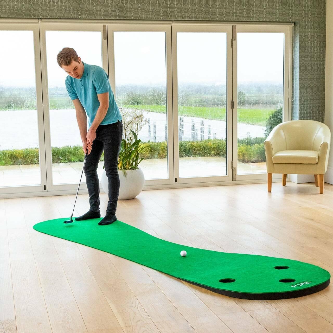 FORB Alfombra de Putting de Golf en casa