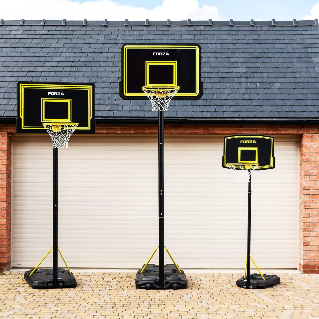 FORZA Système de Poteau et Panier de Basket-Ball Ajustable