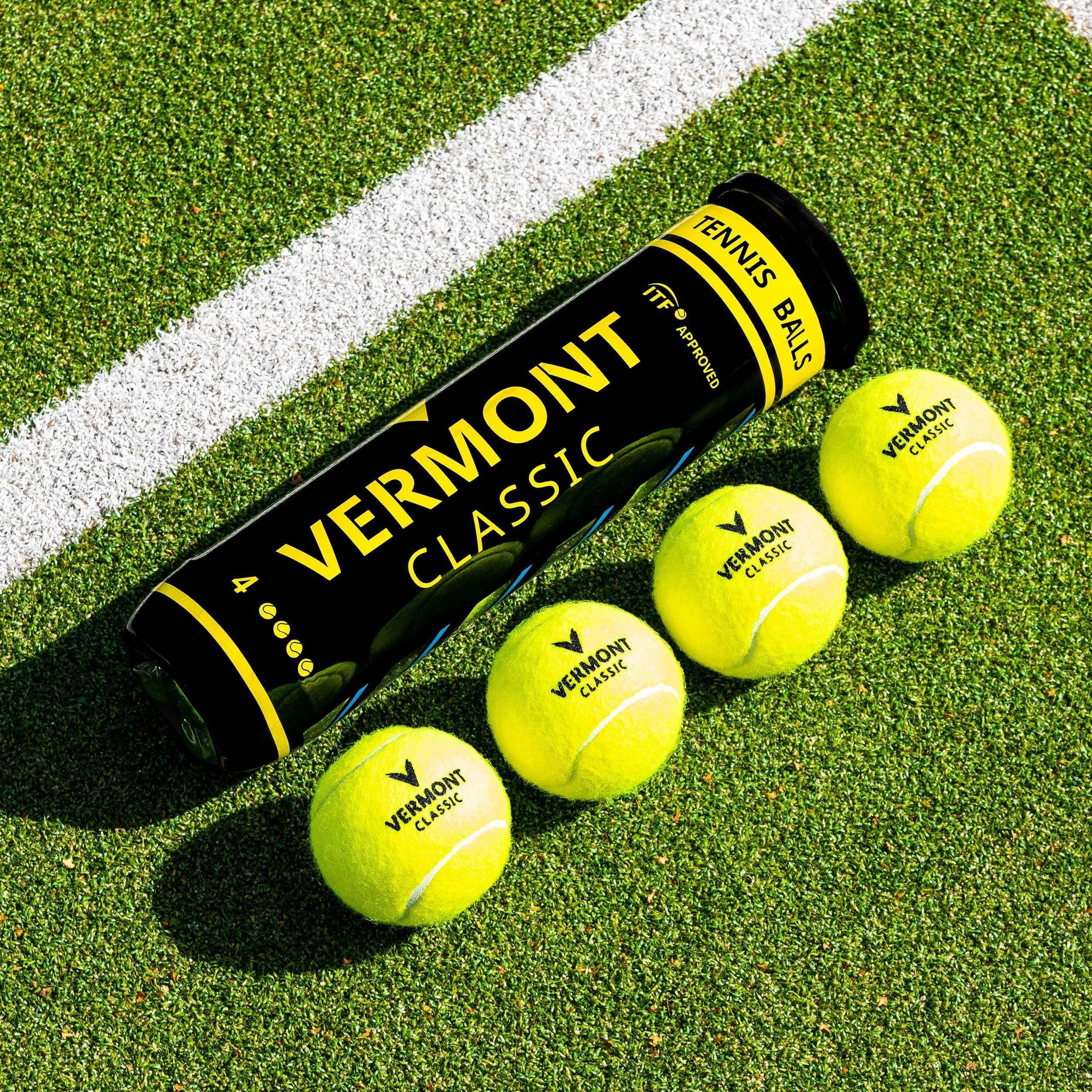 Pelotas de Tenis Clasic Vermont[Tubos de 4 Pelotas]