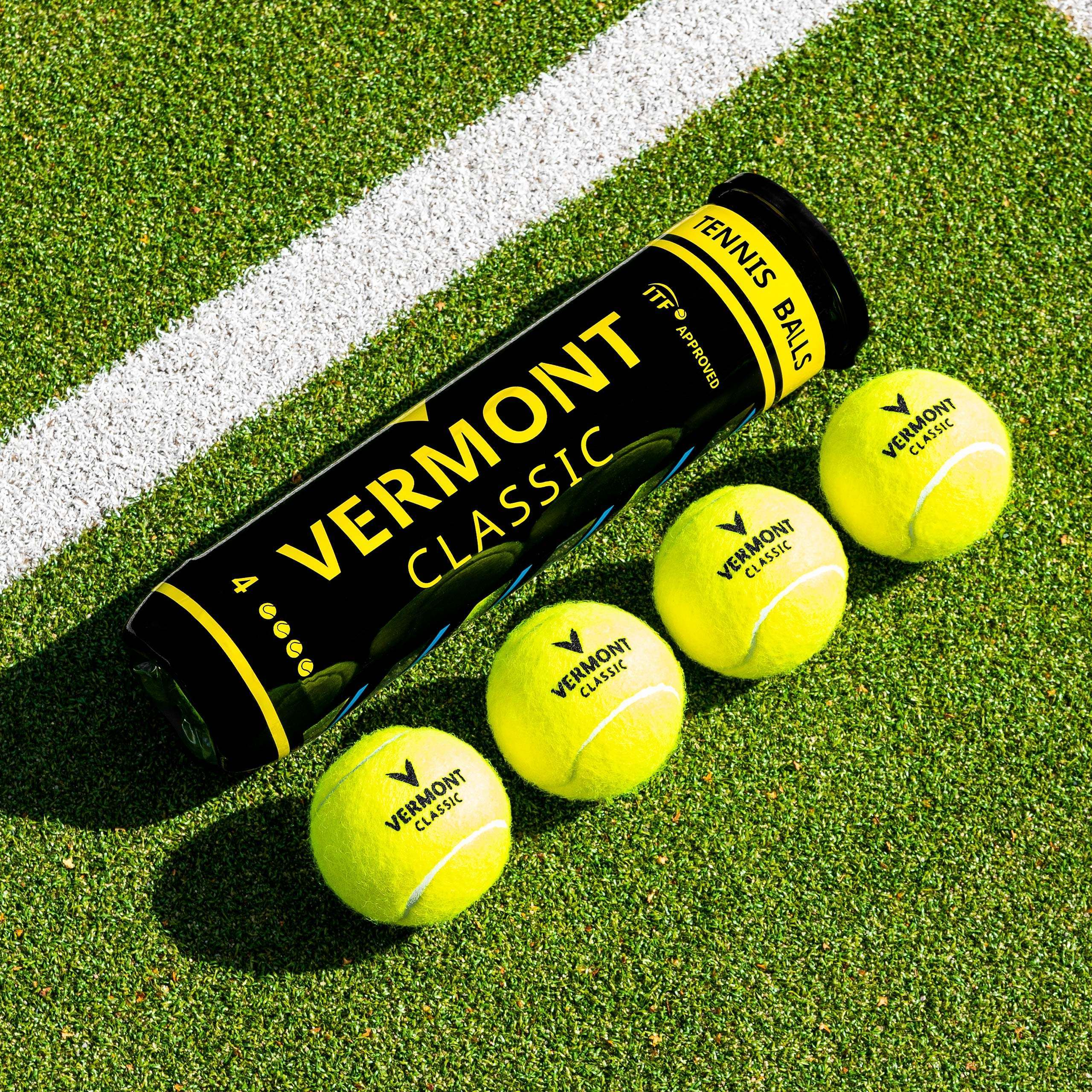 Vermont Classic Tennis Balls [4 Ball Tubes]