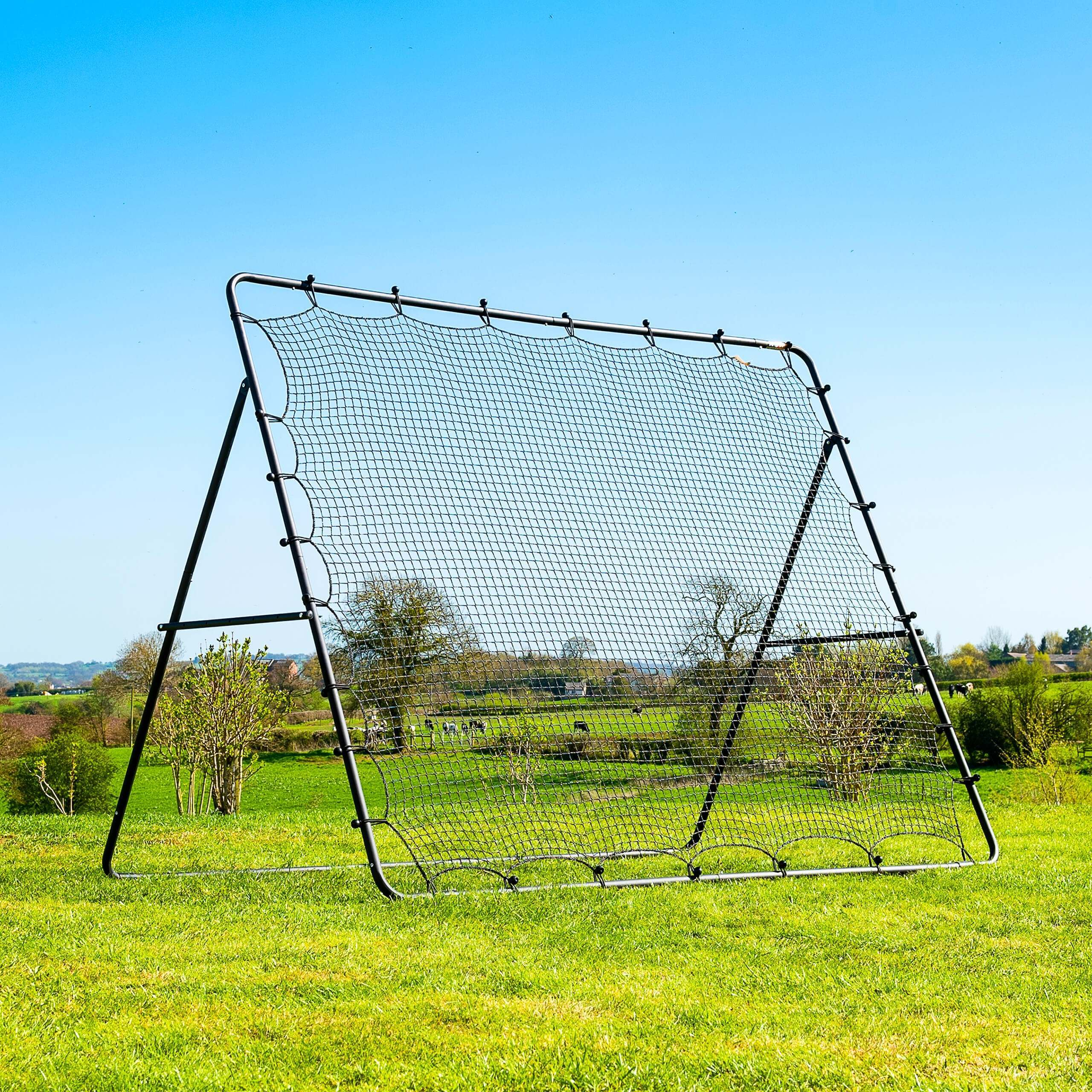 Jumbo Football Rebounder Net (9ft x 7ft)