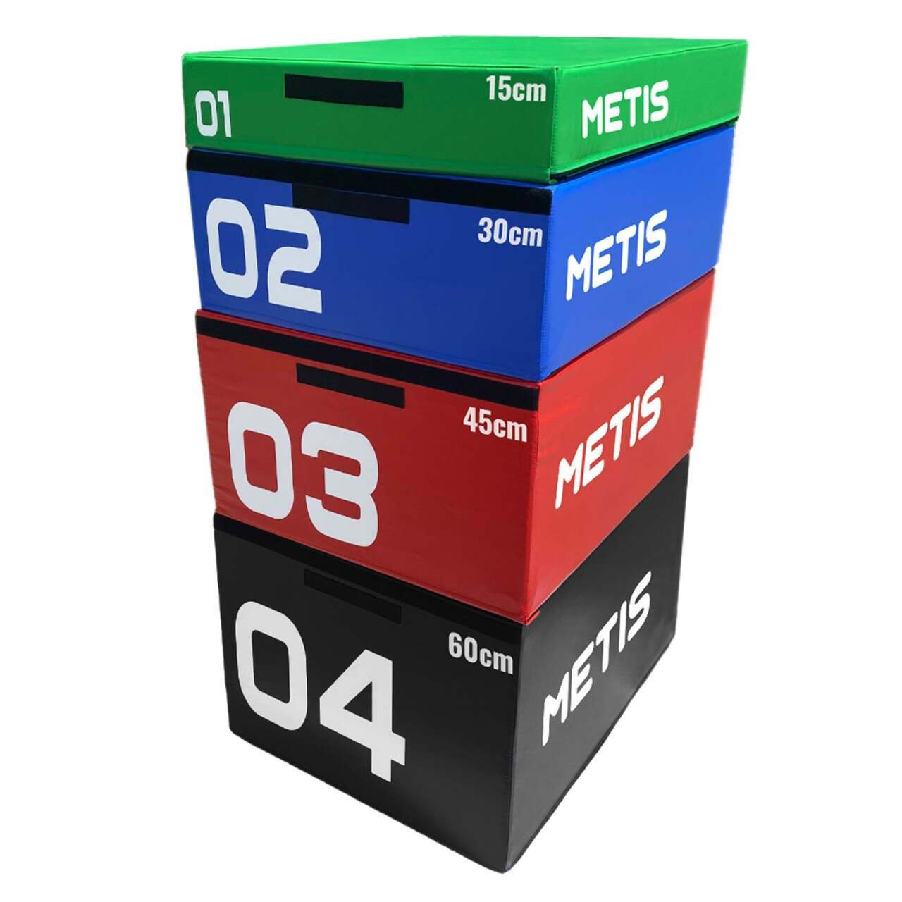 METIS Soft Foam Plyometric Jump Box Sets