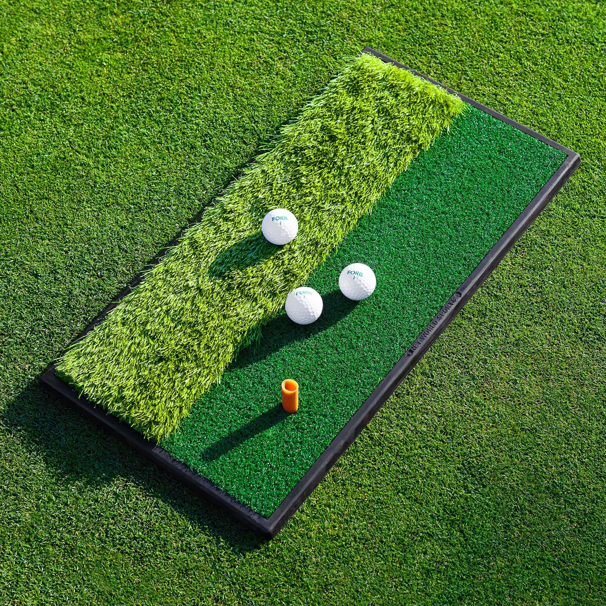 FORB Launch Pad Golf Practice Mat – Dual Side [2ft x 1ft]