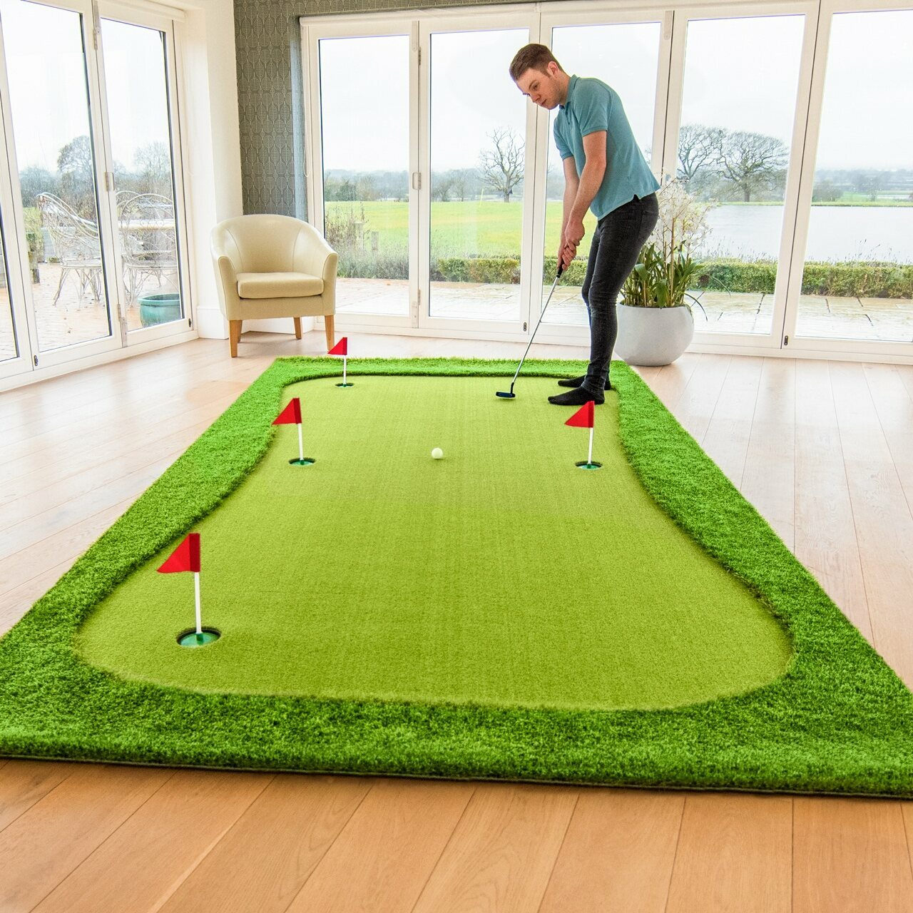 FORB Professional Golf Putting Mat [XL/XXL]