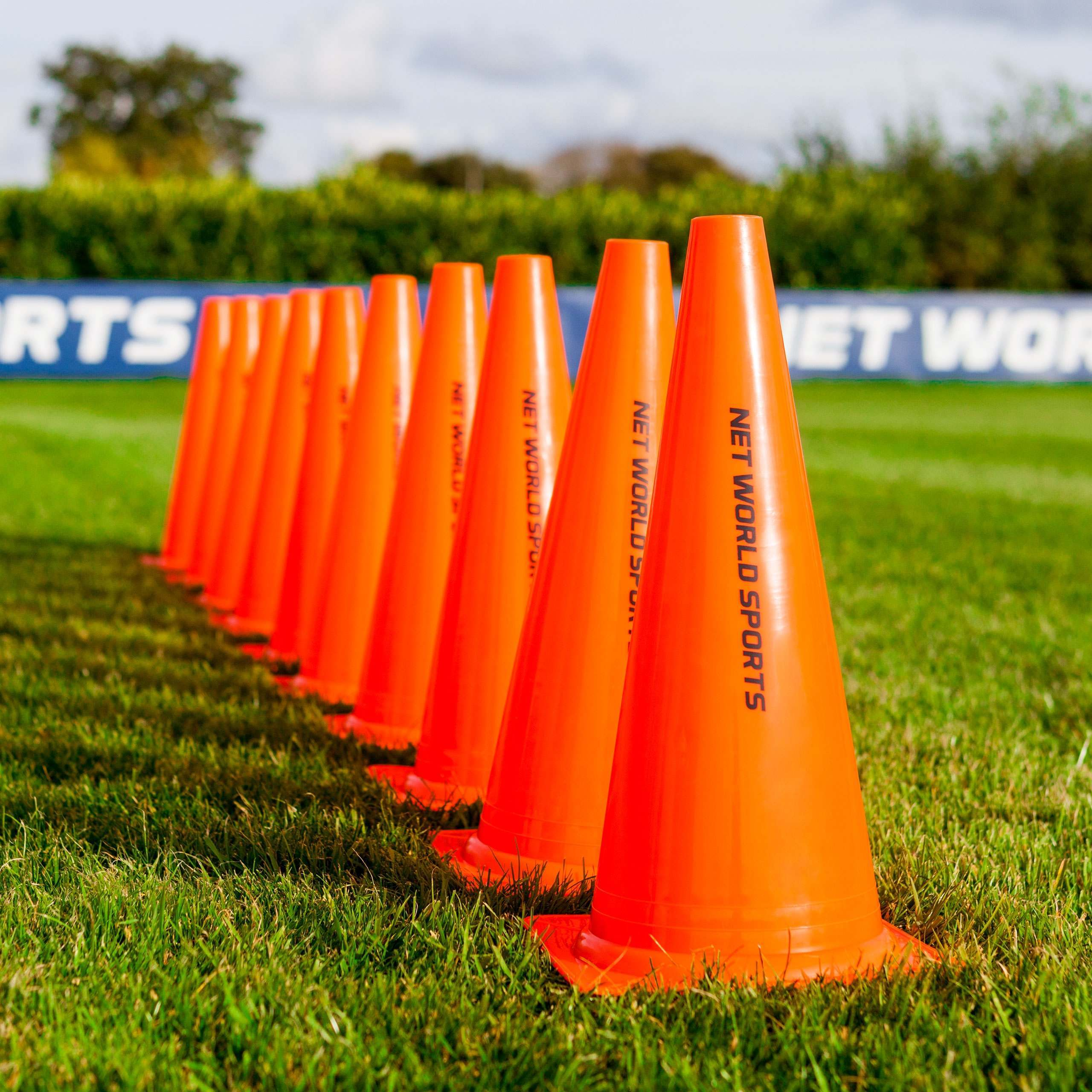 Forza Football Training Marker Cones Net World Sports