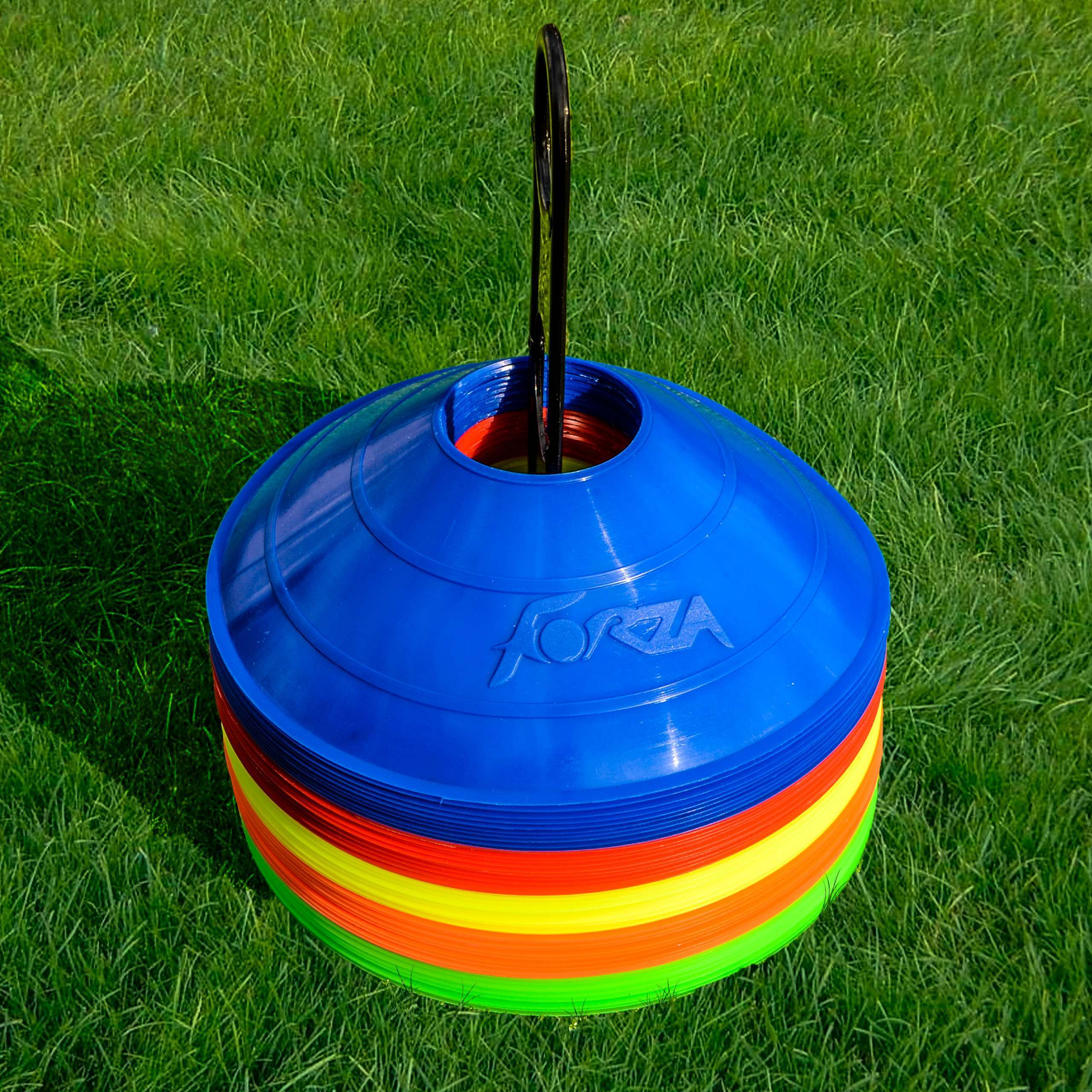 FORZA Soccer Training Marker Cones [Multi Colored]