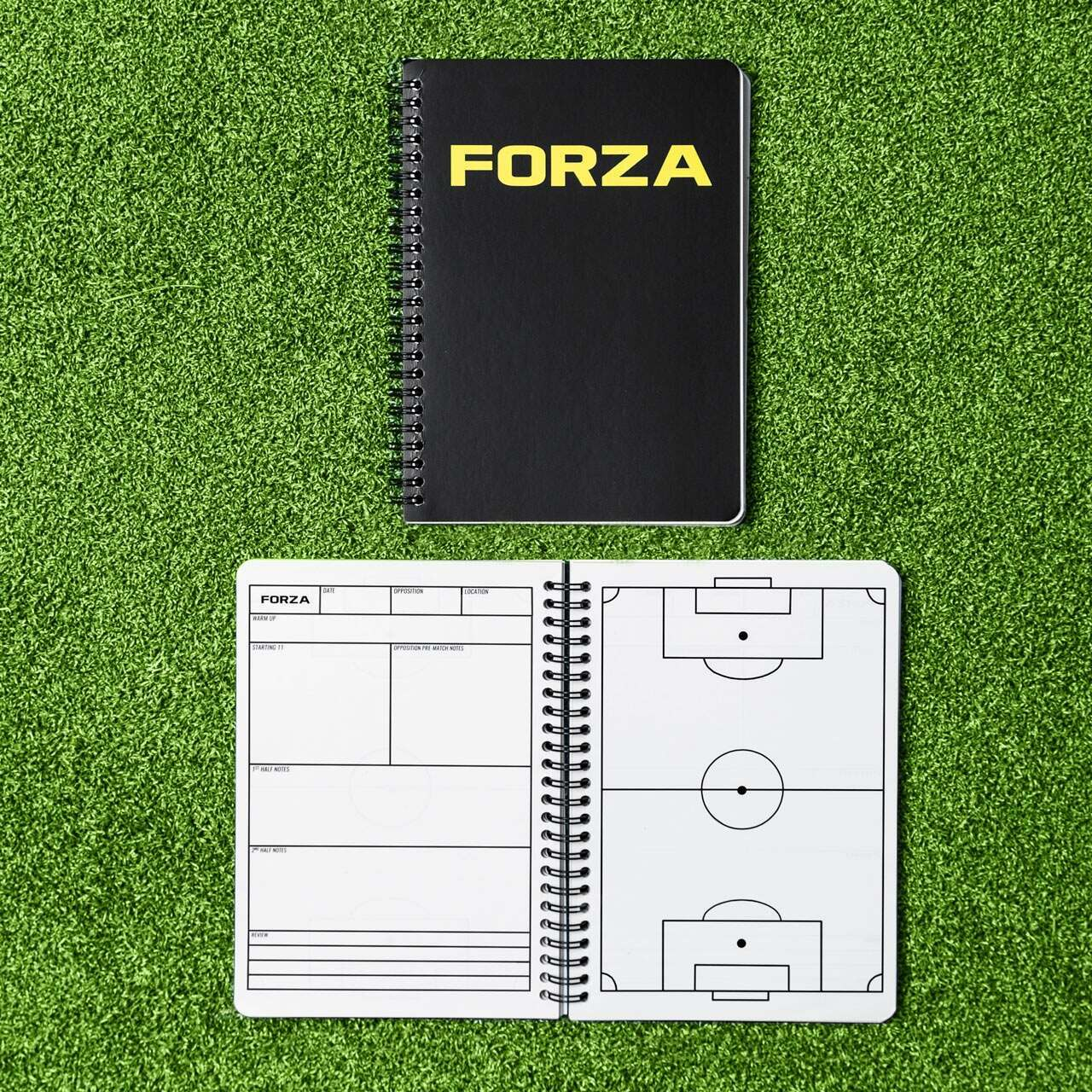 FORZA Football Coaches Notebook [A4/A5]